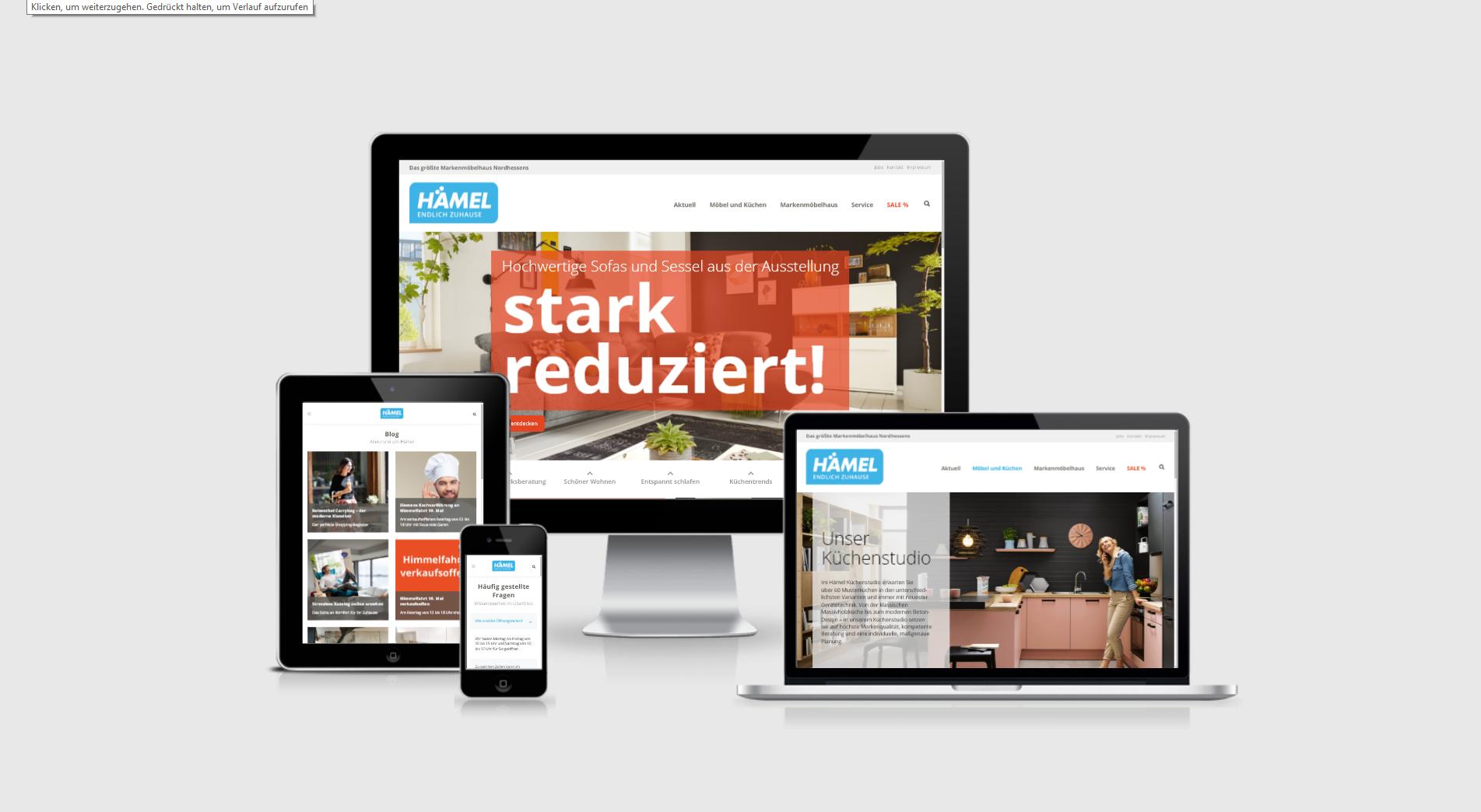 Möbelhaus Hämel Ruven Webdesign Aus Würzburg